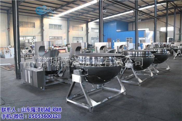 陕西油泼辣子酱全国知名隆泽机械为其打造专业炒锅